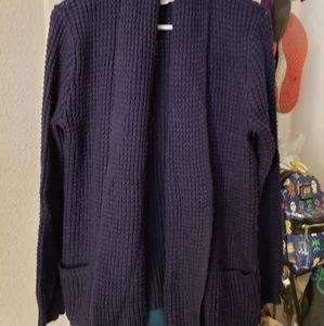 Merona navy blue sweater